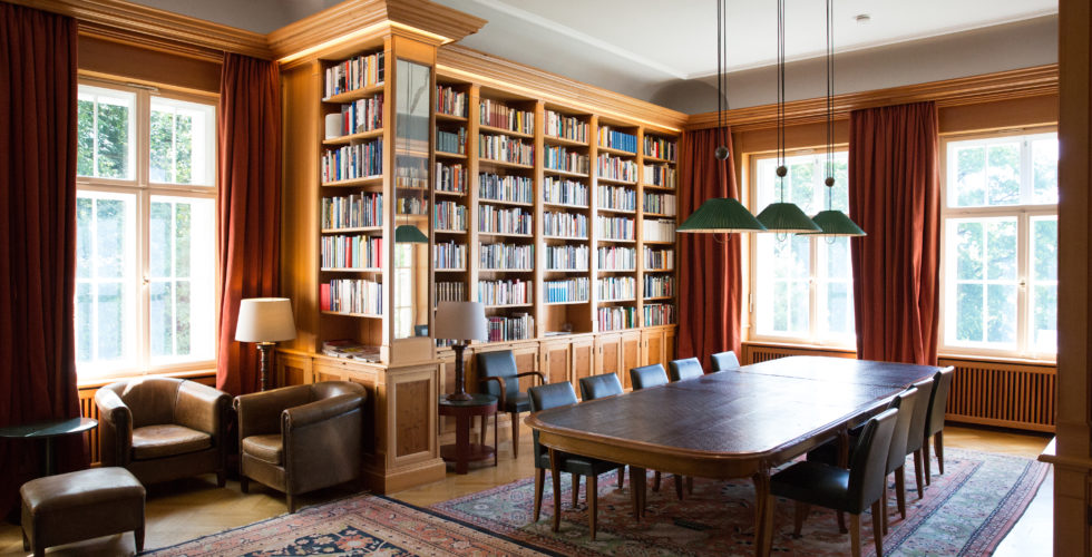 The library of the Hans Arnhold Center