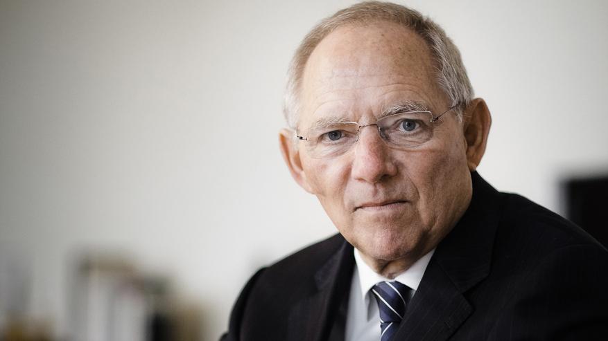 Dr. Wolfgang Schäuble, Bundesminister Der Finanzen.  Photo (c) Bundesministerium Der Finanzen By Ilja C. Hendel