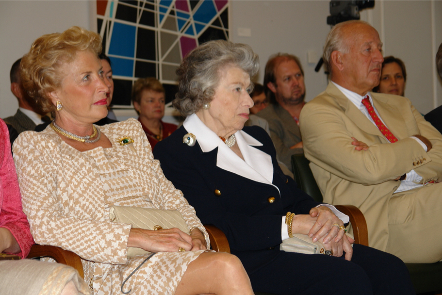 Nina Von Maltzahn, Anna-Maria Kellen, And Lothar Von Maltzahn At An Academy Lecture By Philippe De Montebello, 2007 (Photo: Jürgen Schmidt)