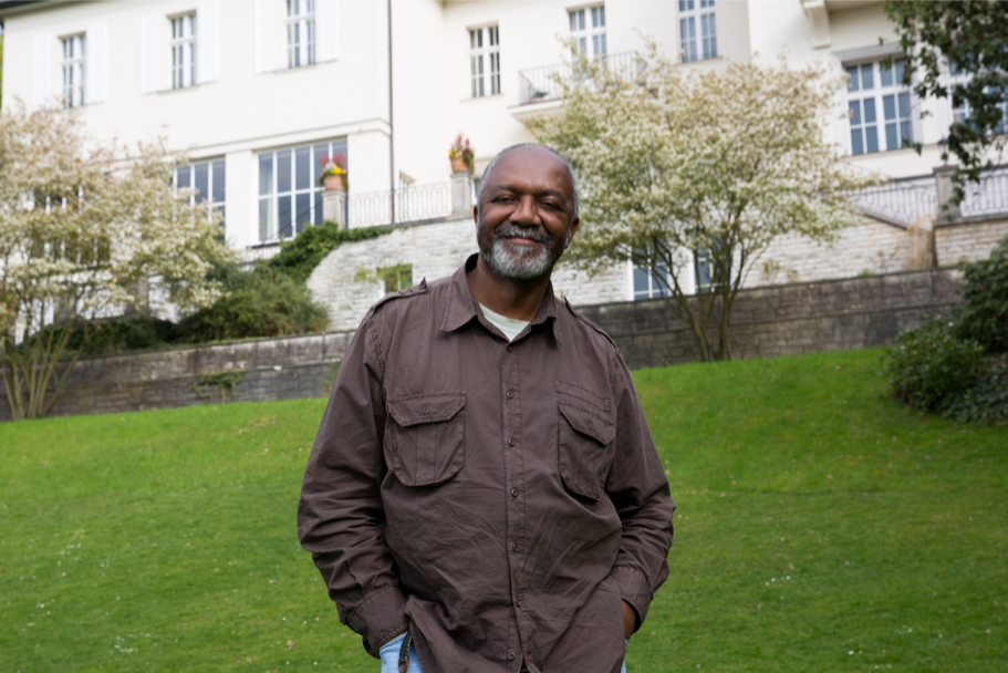Kerry James Marshall At The American Academy In Berlin, April 21, 2017. (Photo: Annette Hornischer)