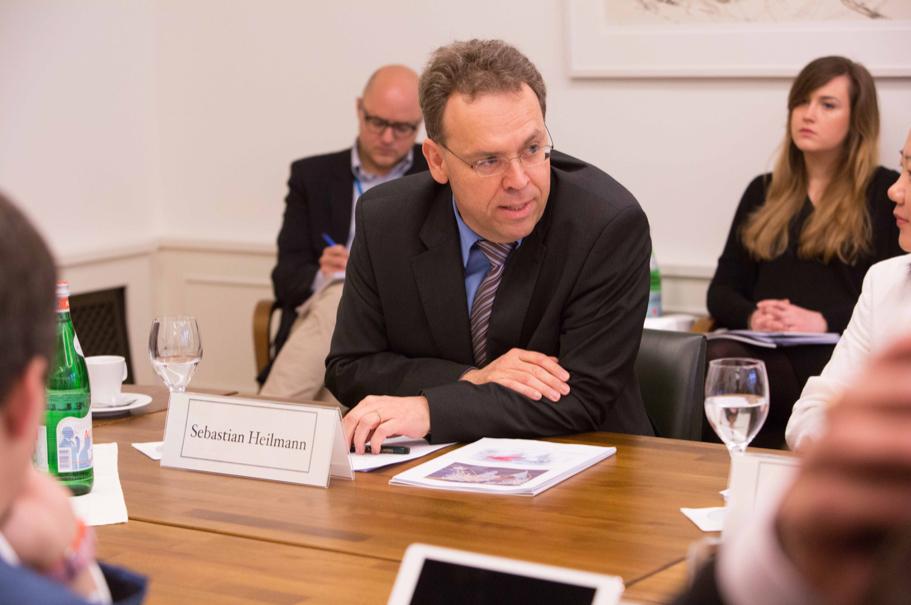 Sebastian Heilmann, founding director of the Mercator Insitute for China Studies. (Photo: Annette Hornischer)