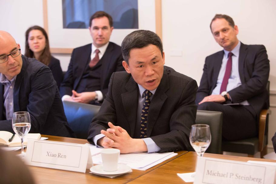 Xiao Ren, Professor Of International Politics At Fudan University (Photo: Annette Hornischer)