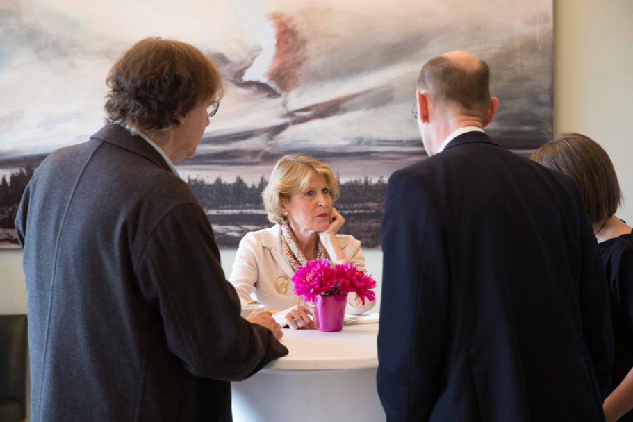 Christine Wallich, Trustee Of The American Academy. (Photo: Annette Hornischer)
