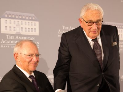 The 2017 Henry A. Kissinger Prize