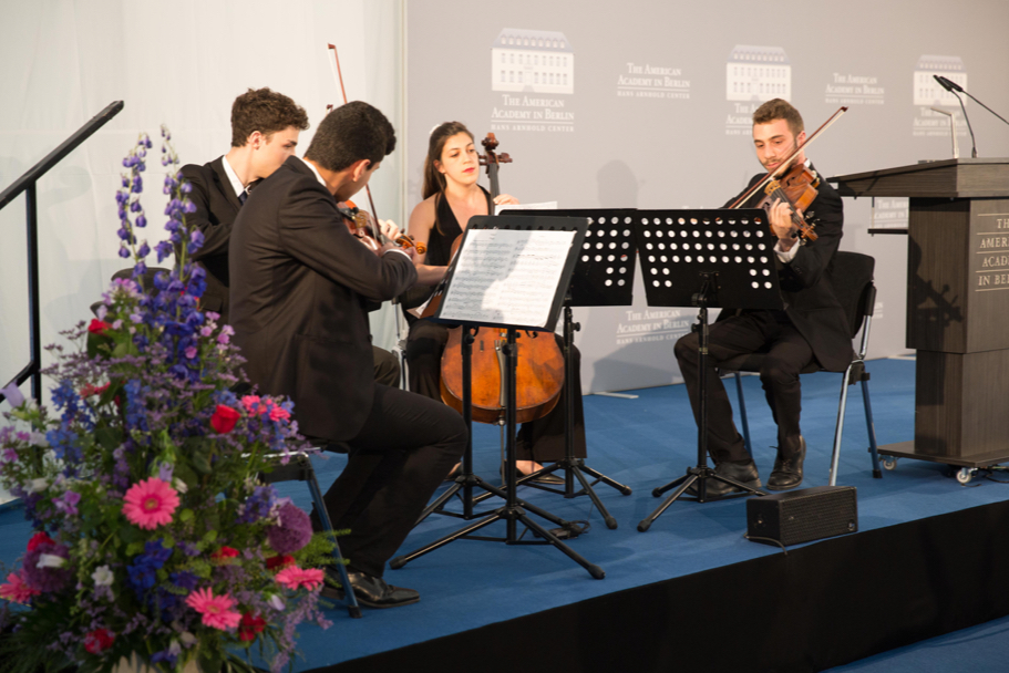 The Polyphony String Quartet. Photo: Annette Hornischer