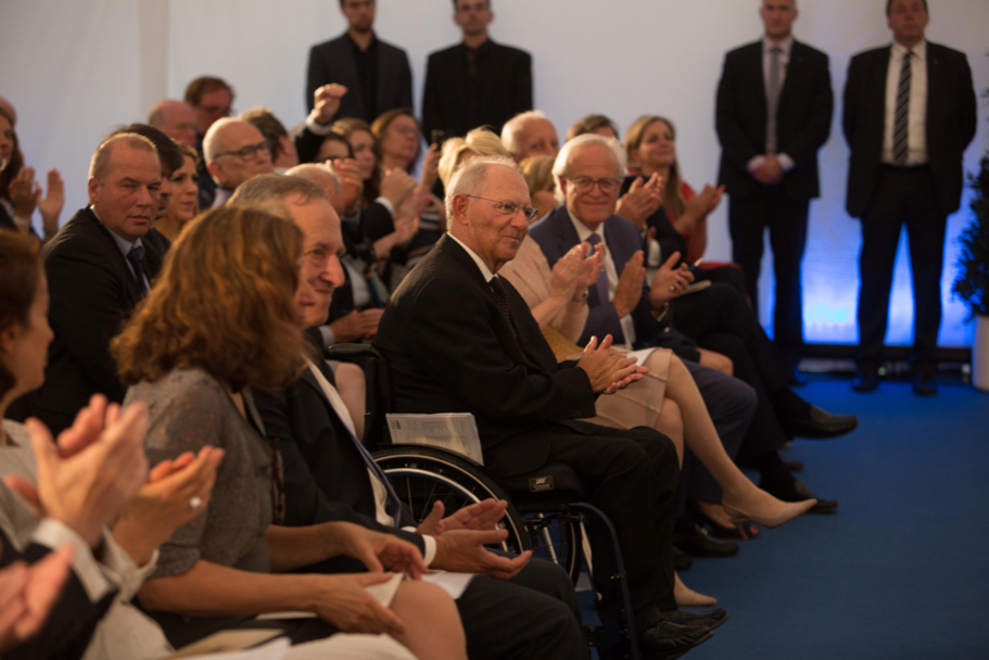 The first-row audience at the 2017 Henry A. Kissinger Prize. Photo: Annette Hornischer