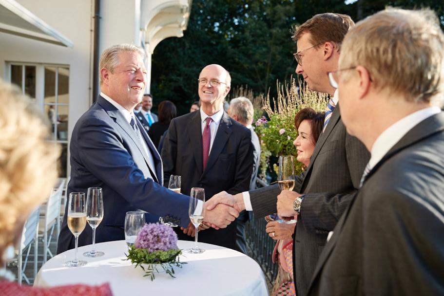 Al Gore, Joachim Graf Von Armin, Edda Gottschaldt, And Olivier Weddrien. Photo: Ralph K. Penno