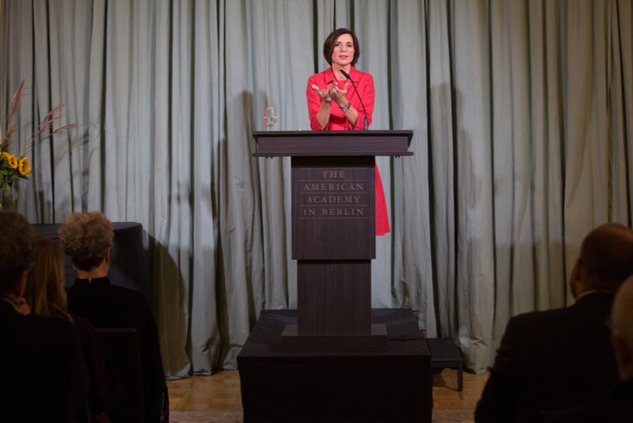 President Of The WZB Berlin Social Science Center Jutta Allmendinger. Photo: Annette Hornischer