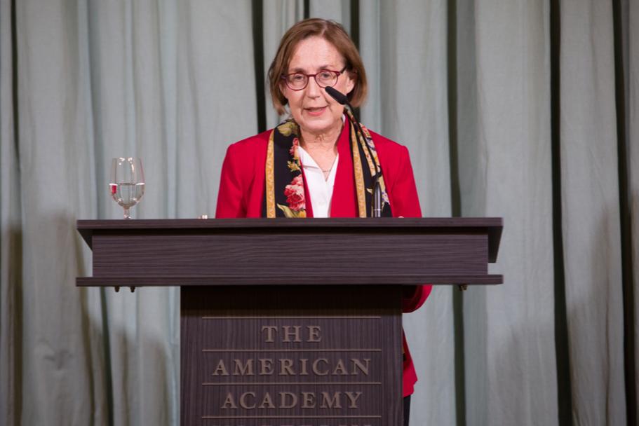 Sociologist Nancy Foner, The Fall 2017 Berthold Leibinger Fellow. Photo: Annette Hornischer