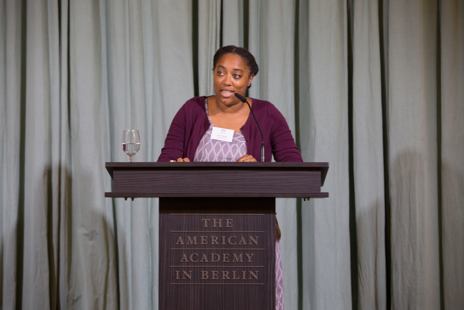 Historian Kira Thurman, a fall 2017 Anna-Maria Kellen Fellow. Photo: Annette Hornischer