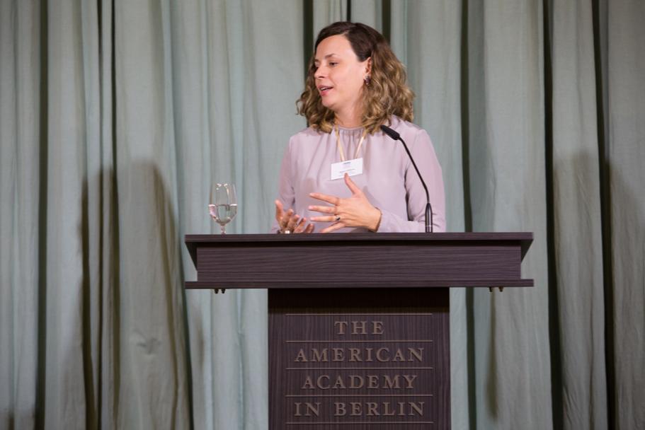 Art Historian Aglaya Glebova, The Fall 2017 Axel Springer Fellow. Photo: Annette Hornischer