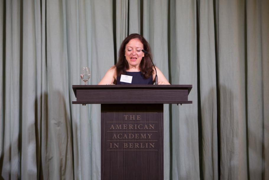 Criminologist and historian Jacqueline Ross, the fall 2017 Daimler Fellow. Photo: Annette Hornischer