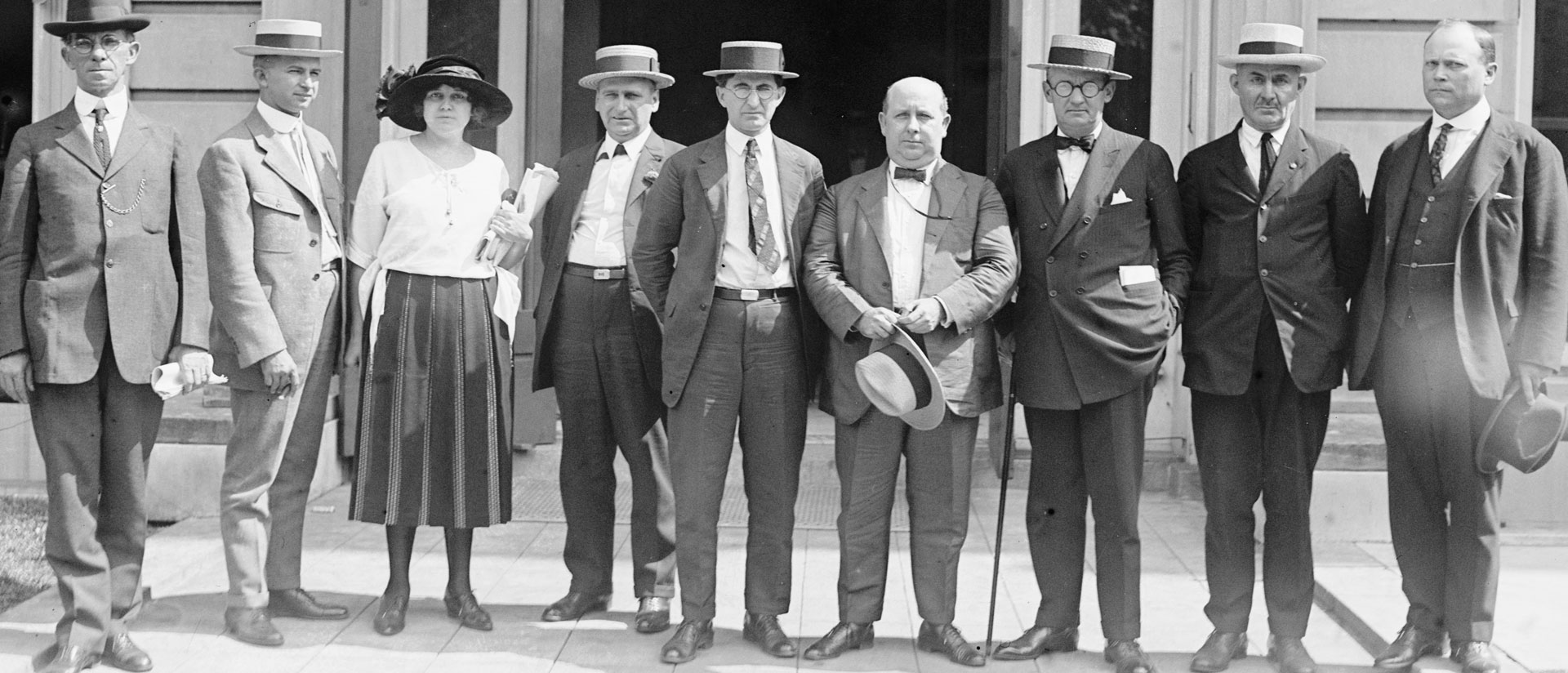Prohibition Group, September, 1922. Print From Glass Negative. National Photo Company Collection, Library Of Congress. Call Number LC-F81-20369