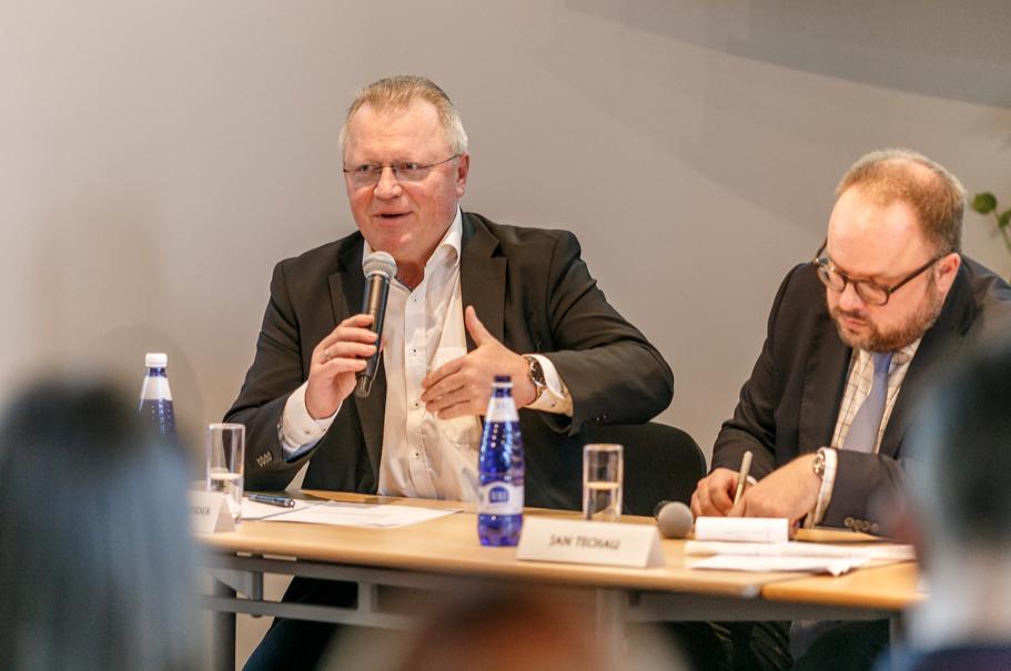 Eberhard Sandschneider, Freie Universität Berlin. Photo: Andres Teiss