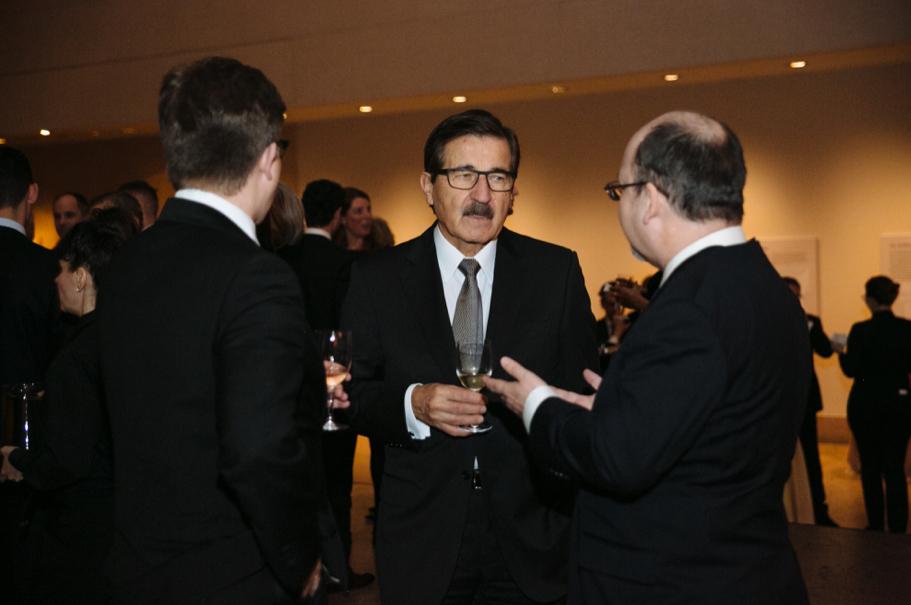 American Academy in Berlin co-vice chairman Manfred Bischoff. Photo: Lauren Kallen