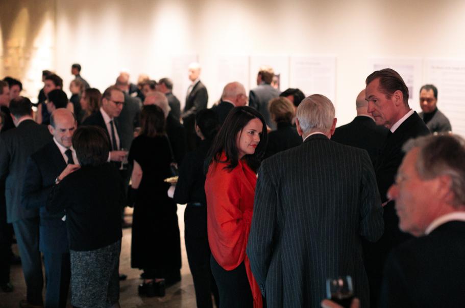 The reception at the 2017 American Academy in Berlin gala. Photo: Lauren Kallen