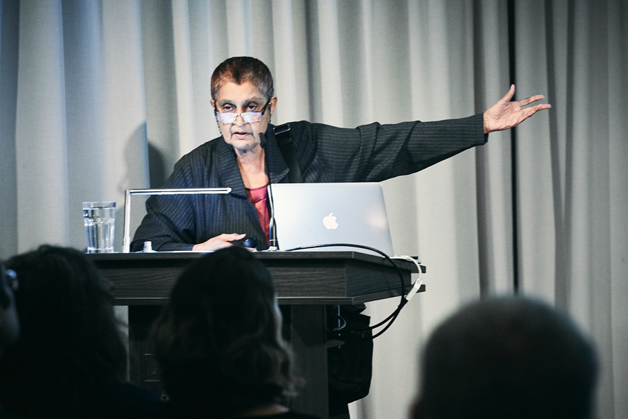 Gayatri Spivak At The American Academy