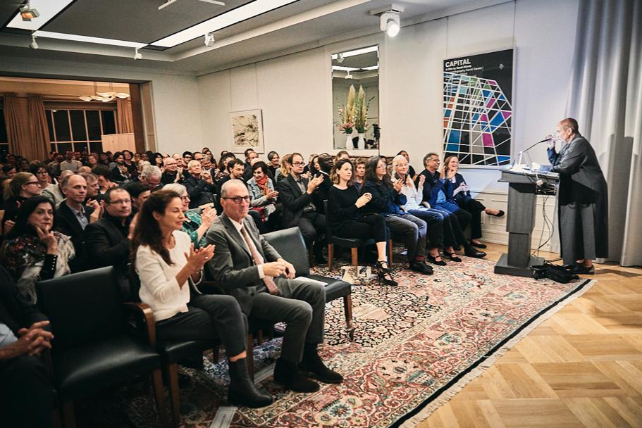 The Audience At Gayatri Spivak's Richard Von Weizsäcker Lecture, On October 17, 2017. Photo: Ralph K. Penno