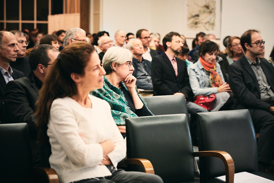 The Audience At Gayatri Spivak's Lecture At The American Academy In Berlin, On October 17, 2017. Photo: Ralph K. Penno