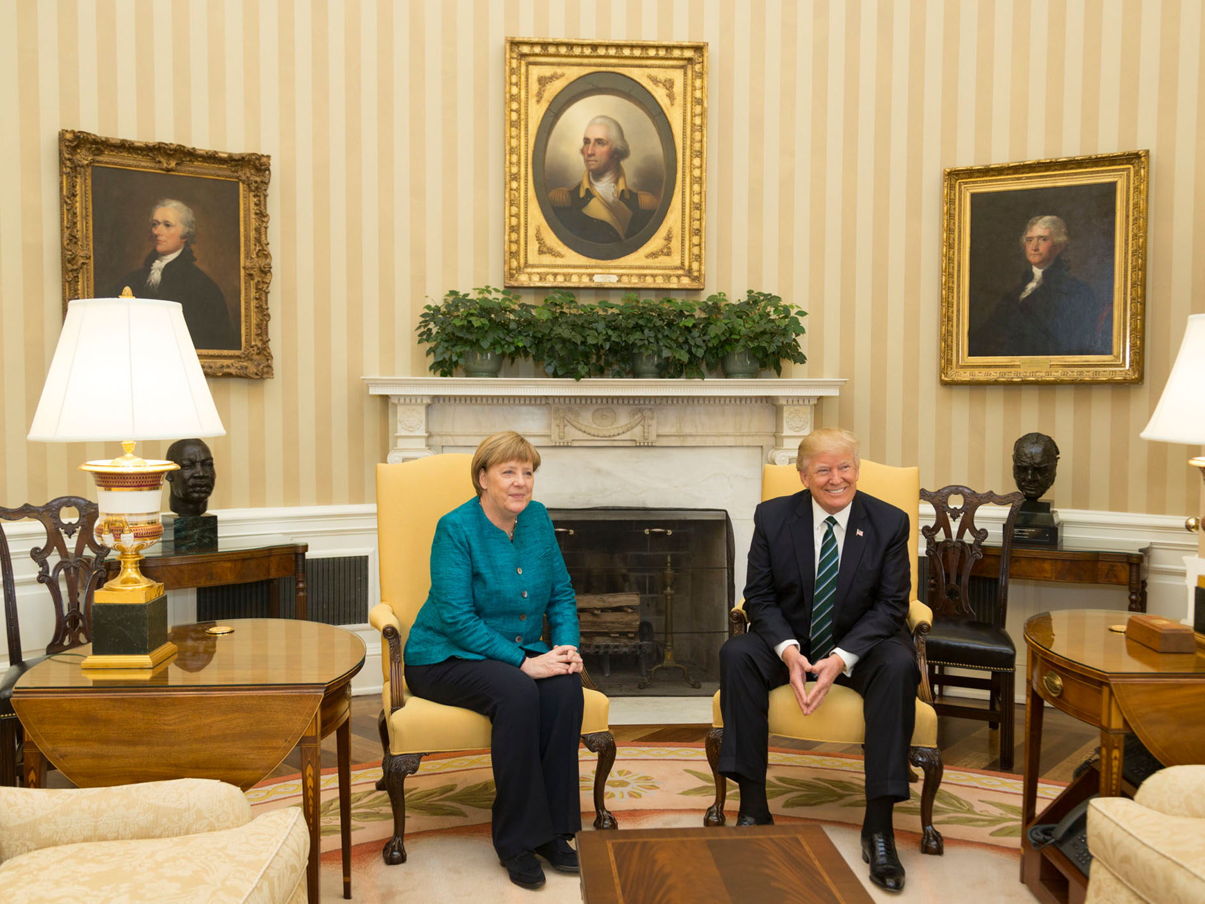 US-German Relations One Year Later