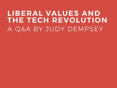Liberal Values And The Tech Revolution