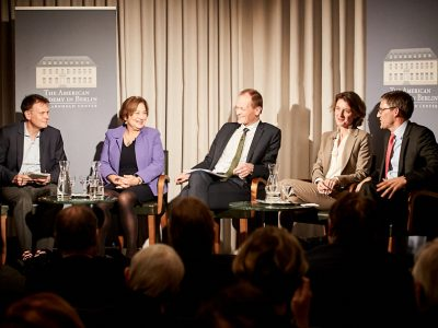 Panel Discussion: US-German Relations One Year Later