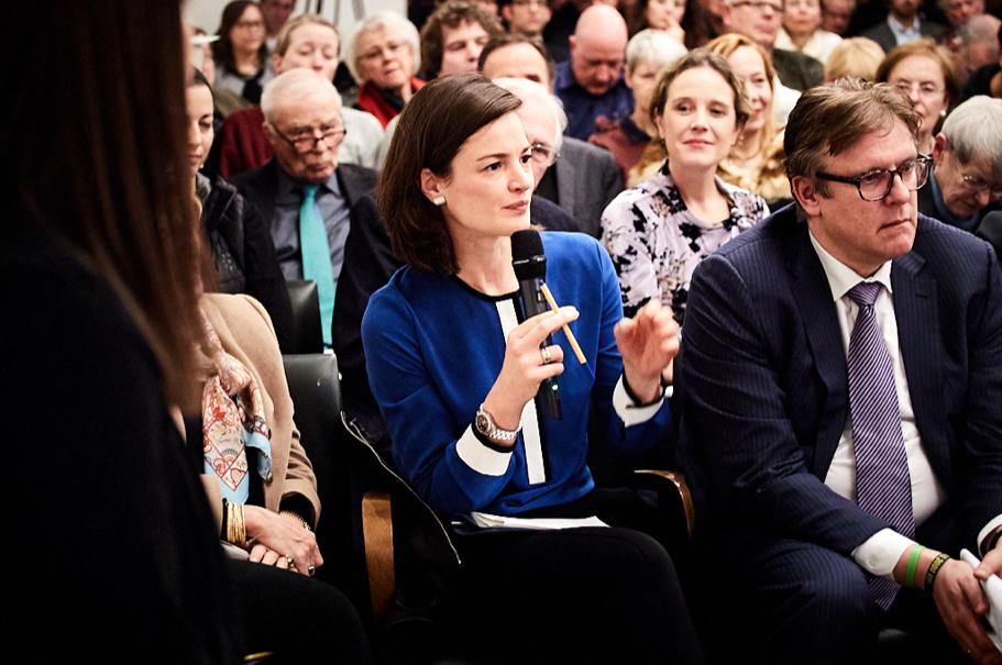 Anna Herrhausen, executive director of the Alfred Herrhausen Gesellschaft. Photo: Ralph K. Penno