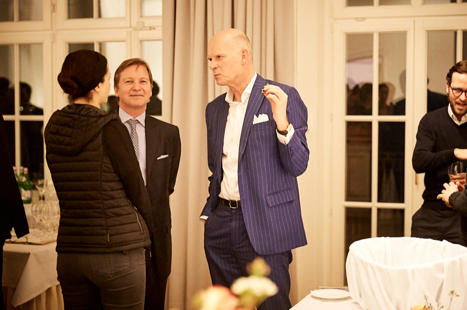 Holbrooke Forum supporters Alexander Georgieff, of Georgieff Capital Advisors, and Markus Hauptmann, of White & Case. Photo: Ralph K. Penno