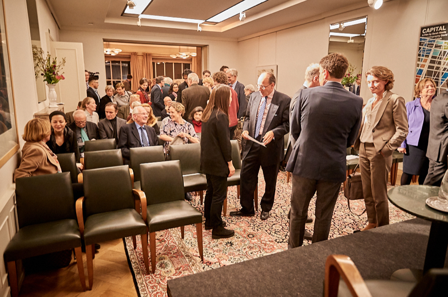 "The audience gathers at the February 15, 2018, Richard C. Holbrooke Discussion, ""US-German Relations One Year Later: Transatlantic Security and President Trump."" Photo: Ralph K. Penno"