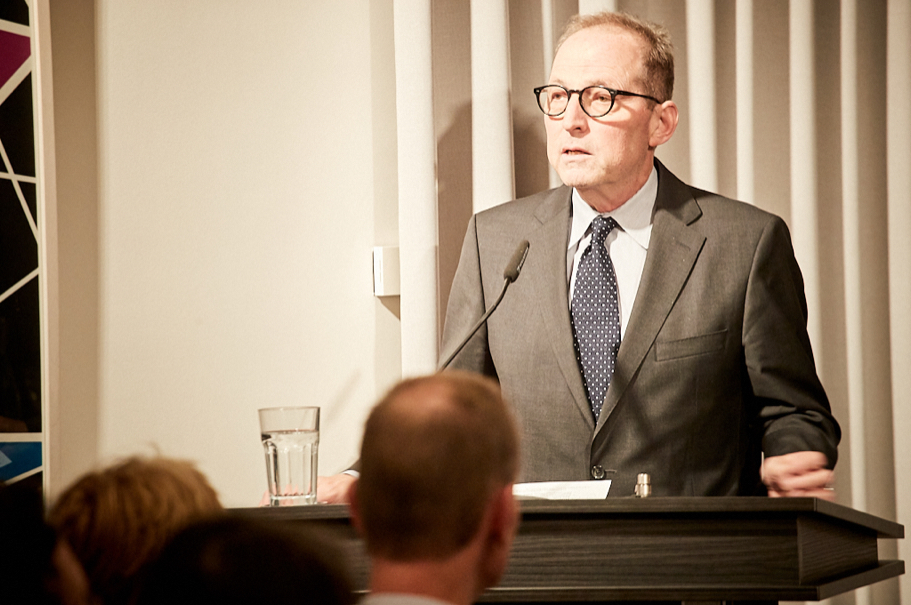 American Academy president Michael P. Steinberg delivers welcoming remarks. Photo: Ralph K. Penno