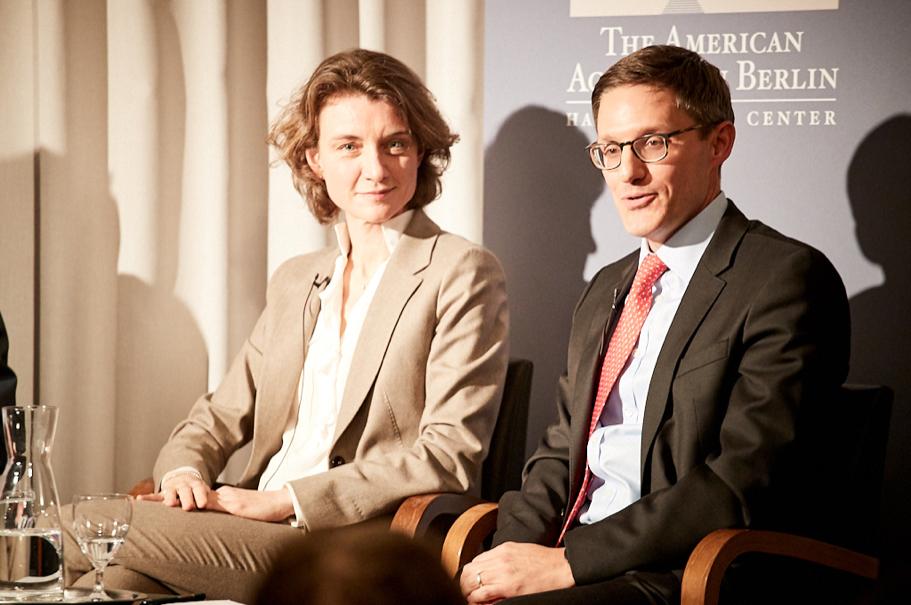 Daniela Schwarzer and Derek Chollet. Photo: Ralph K. Penno