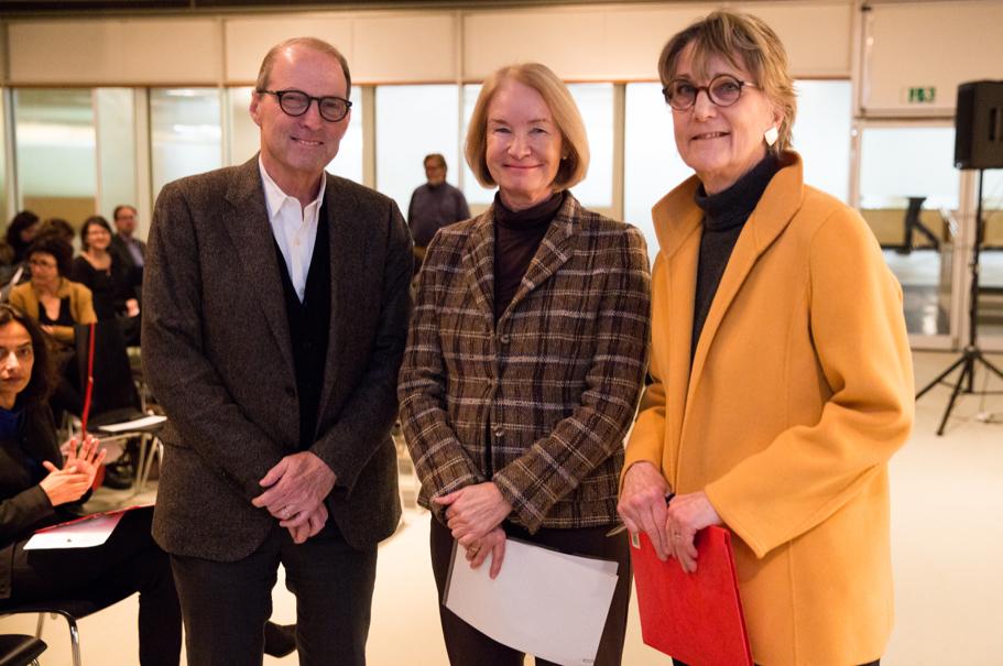 Michael P. Steinberg, Barbara Schneider-Kempf, And Pamela Rosenberg. Photo: Annette Hornischer