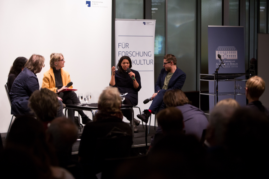 Pamela Rosenberg, Julia Grosse, and Josh Kun. Photo: Annette Hornischer