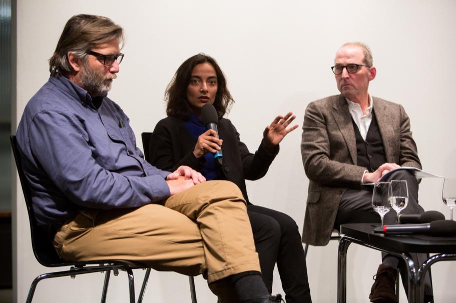 Keith David Watenpaugh, Rajshri Jayaraman, Michael P. Steinberg. Photo: Annette Hornischer