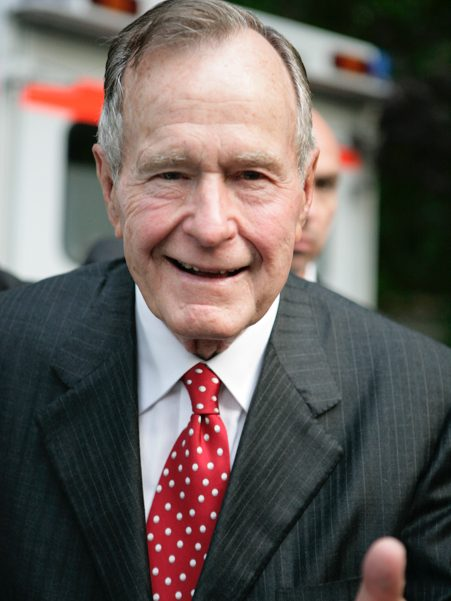 President George H.W. Bush (1924-2018). Photo: Annette Hornsicher