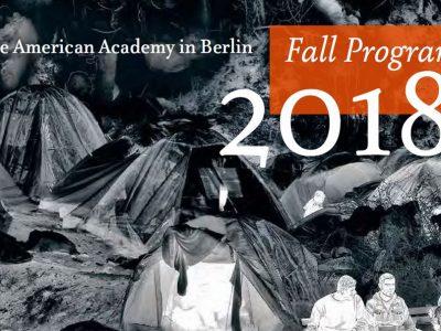 The Fall 2018 Program