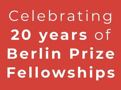 Celebrating Twenty Years Of Fellowships