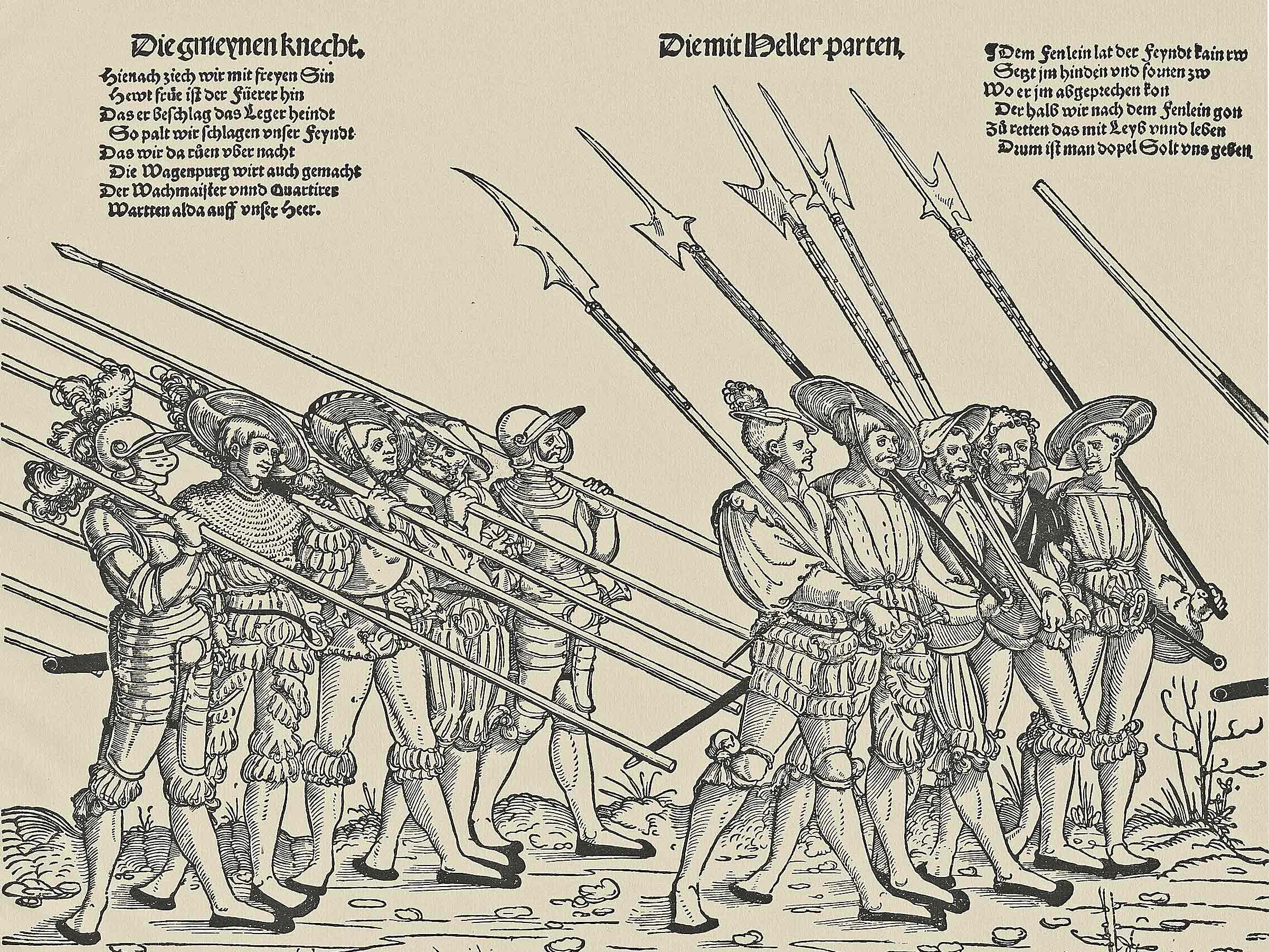 """Erhard Schön, c. 1532, from Max Geisberg, """"Der Deutsche Einblatt-Holzschnitt in der ersten Hälfte des XVI. Jahrhunderts"""" (1923). Univ. of Heidelberg digital library"""