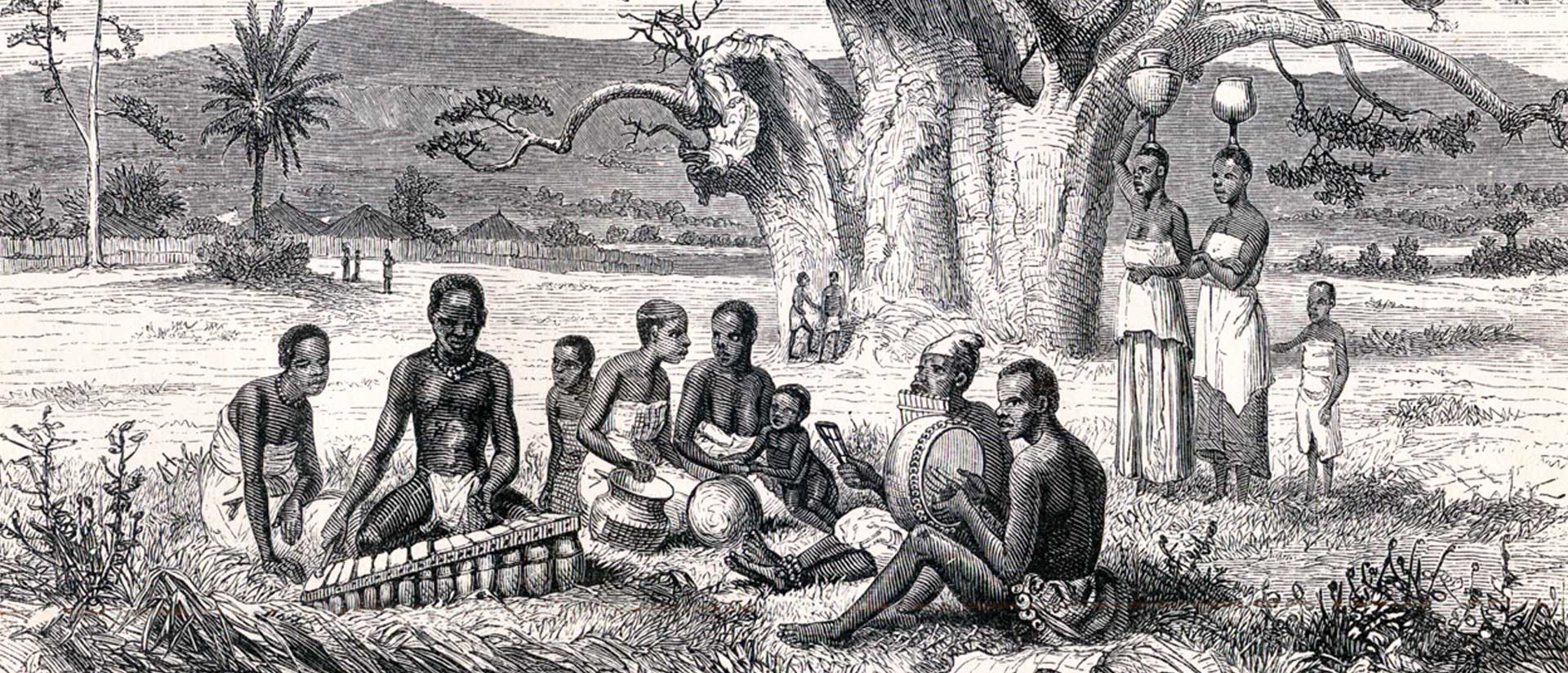"Illustration From David Livingstone's ""Narrative Of An Expedition To The Zambesi And Its Tributaries, And Of The Discovery Of The Lakes Shirwa And Nyassa, 1858-1864 (London, John Murray, 1865)."