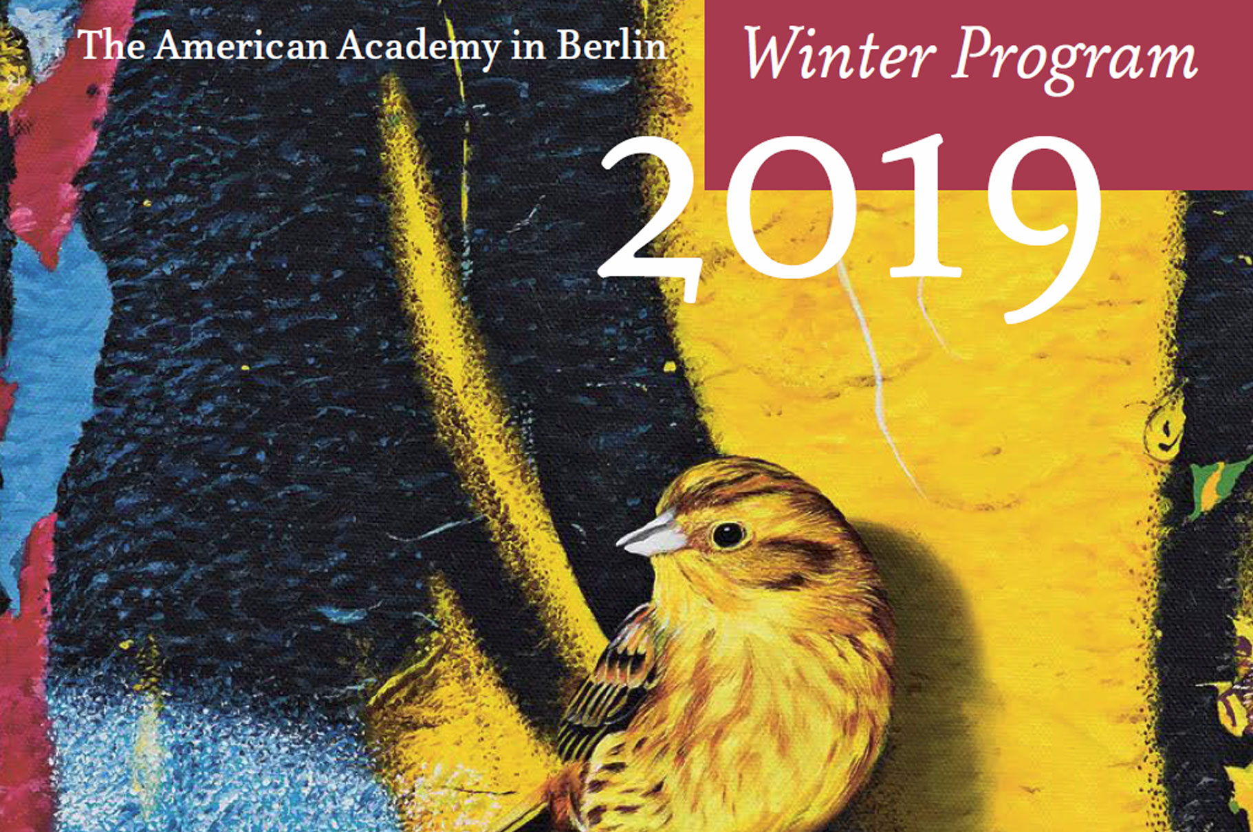 The Winter 2019 Program