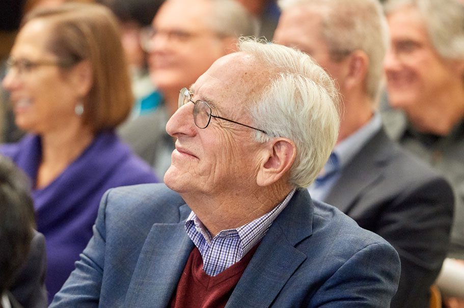 Alumnus Norman Naimark. Photo: Brian Byllesby