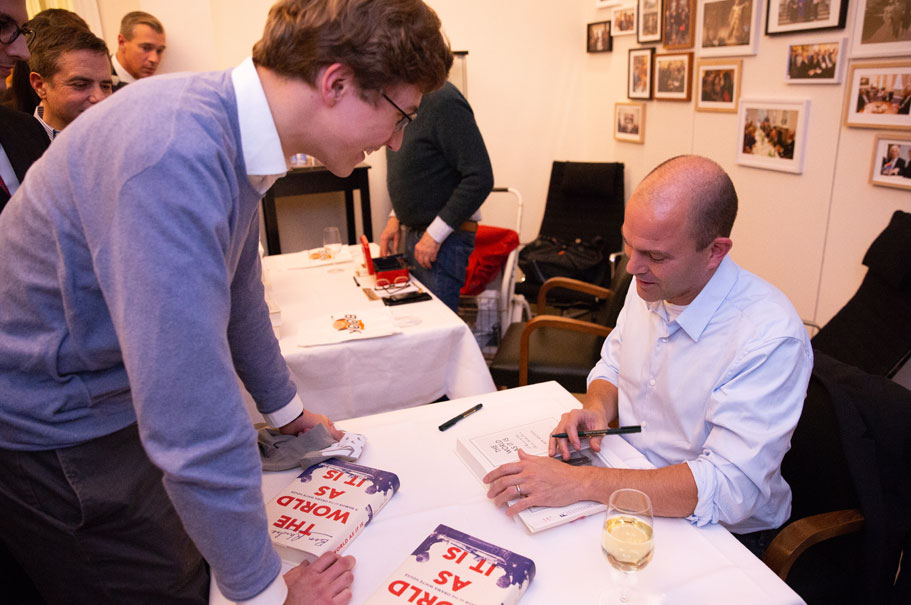 Ben Rhodes's book The World as It Is is published in German by C.H.Beck as Im Weißen House. Photo: Annette Hornischer