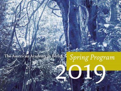 The Spring 2019 Program