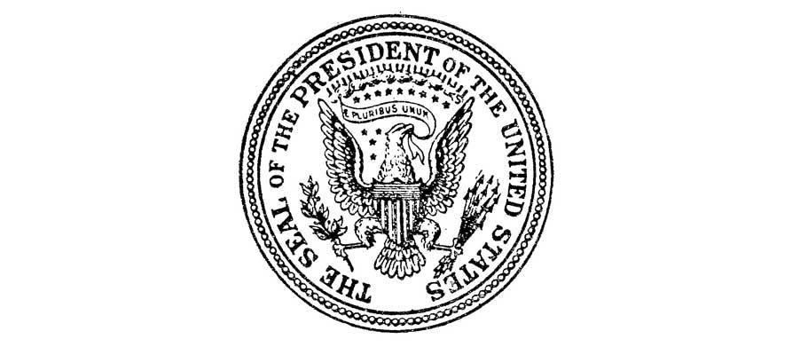 Presidenial Seal 1894