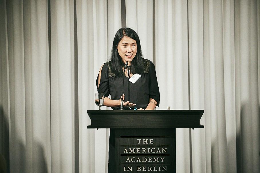 Writer Suki Kim. Photo: Ralph K. Penno