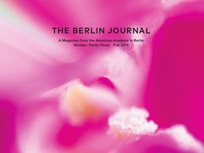 The Fall 2019 Berlin Journal