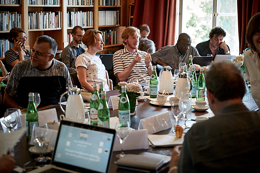 The second Andrew W. Mellon Workshop at the American Academy in Berlin. Photo: Ralph K. Penno