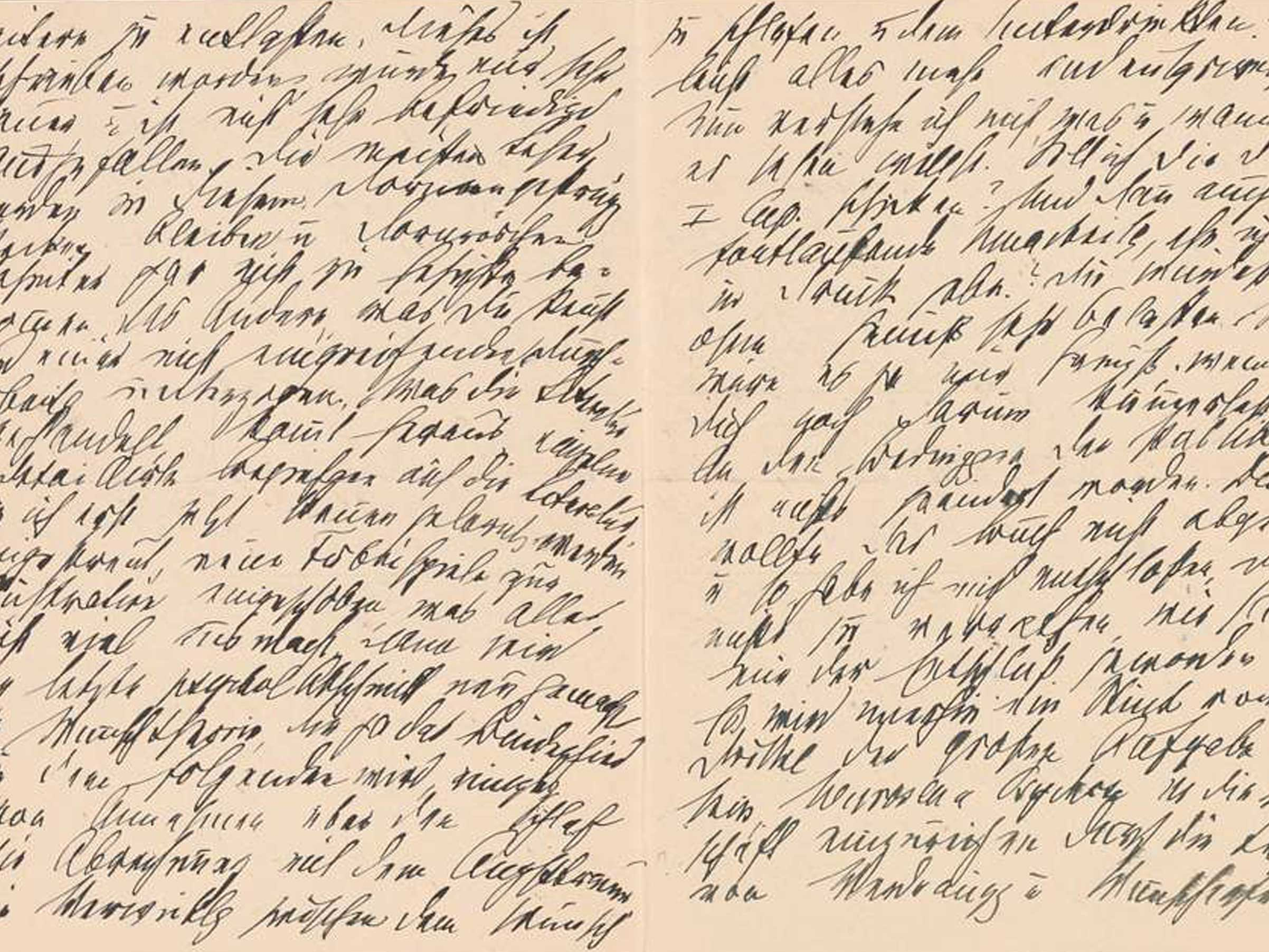 Image from Sigmund Freud Papers, General Correspondence, 1871-1896, US Library of Congress.