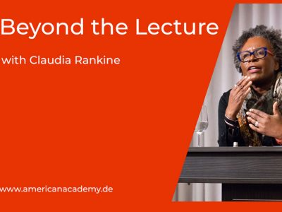 """""""Beyond The Lecture"""" Podcast With Claudia Rankine"""