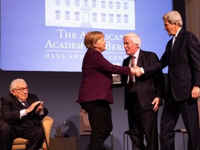 Angela Merkel Receives The Henry A. Kissinger Prize